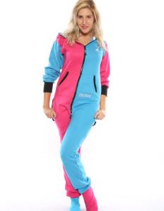 Dospělé dupačky Skippy pink blue