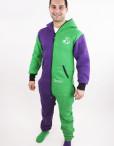 Dospělé dupačky Skippy purple green
