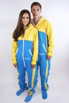 Dospělé dupačky Skippy yellow blue