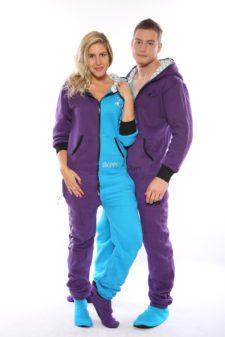 Dospělé dupačky Skippy blue purple