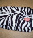 Dospělé dupačky 3 - Teddy zebra - vada