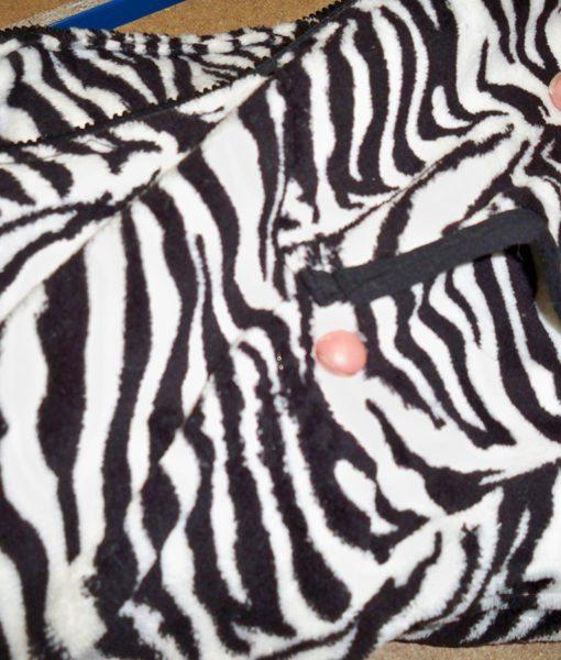 Dospělé dupačky 4 – Teddy zebra – vada