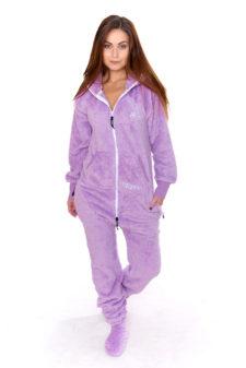 Dospělé dupačky Skippy teddy lavender