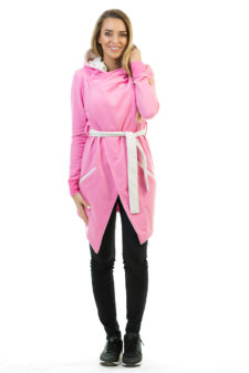 Dospělé dupačky Dámský kardigan pink