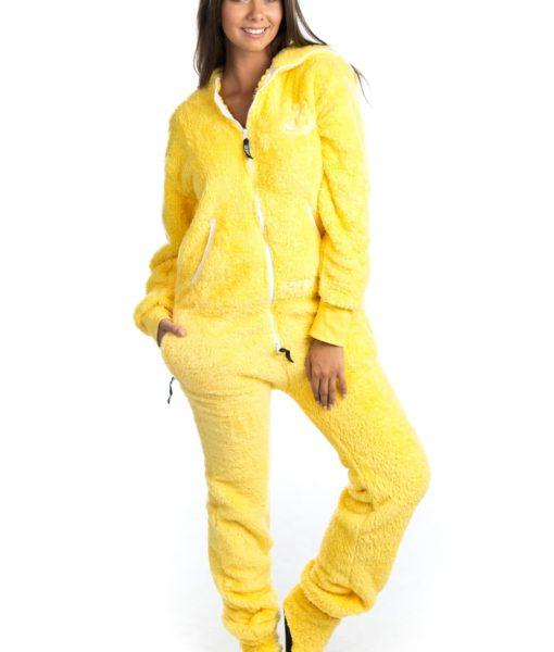 Dospělé dupačky Skippy teddy yellow