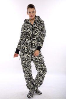 Dospělé dupačky Skippy teddy zebra