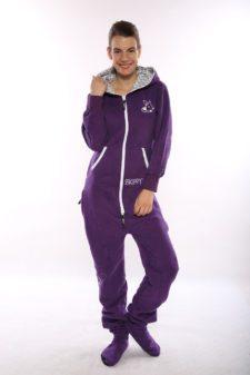 Dospělé dupačky Skippy purple