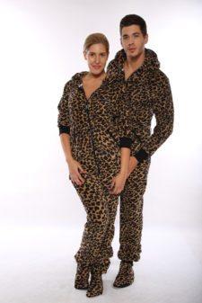 Dospělé dupačky Skippy teddy leopard