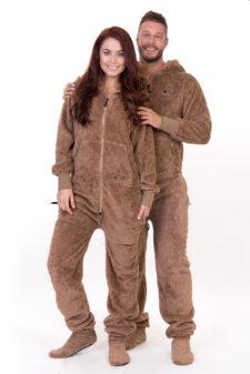Dospělé dupačky Skippy teddy beaver