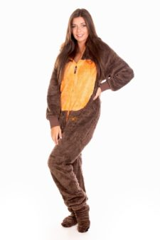 Dospělé dupačky Skippy teddy squirrel
